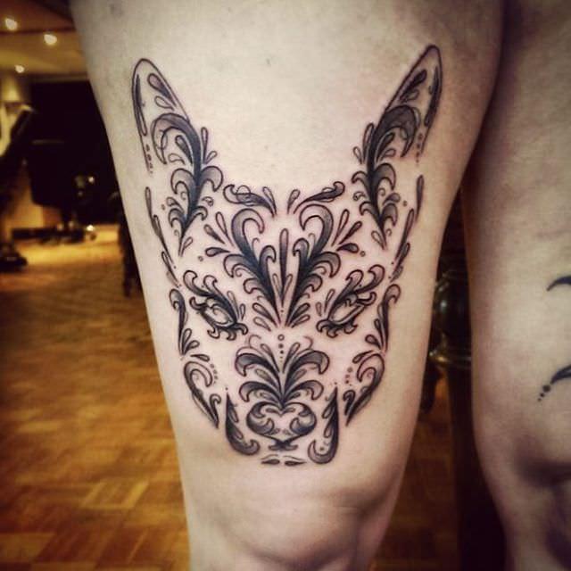 31 Parmi Les Plus Beaux Tatouages Faits En Hommage Aux Chiens