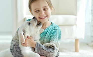 """Illustration : """"Les chiens et les enfants : les précautions à prendre"""""""