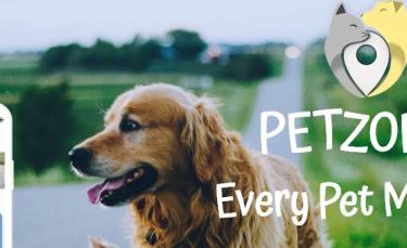 """Illustration : """"Petzone, une application gratuite pour retrouver son animal perdu, trouver un petsitter et bien plus encore !"""""""