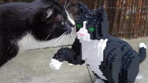 Illustration : Une société vous offre la possibilité d'obtenir une reproduction de votre animal de compagnie à taille réelle en LEGO !