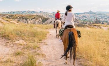 """Illustration : """"Se balader en toute sécurité avec son cheval """""""