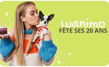 """Illustration : """"Wanimo, site de conseils vétérinaires et animalerie en ligne, souffle sa 20e bougie"""""""