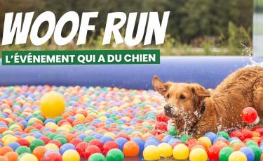 """Illustration : """" Rendez-vous ce week-end des 18 et 19 septembre pour la Woof Run, l'évènement tant attendu par les férus de sports canins"""""""