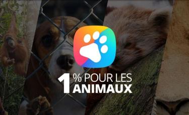 """Illustration : """"YouCare lance le label « 1% Pour les Animaux » pour protéger les vies animales et la biodiversité"""""""