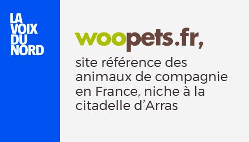 Woopets.fr, site référence des animaux de compagnie en France, niche à la citadelle d'Arras