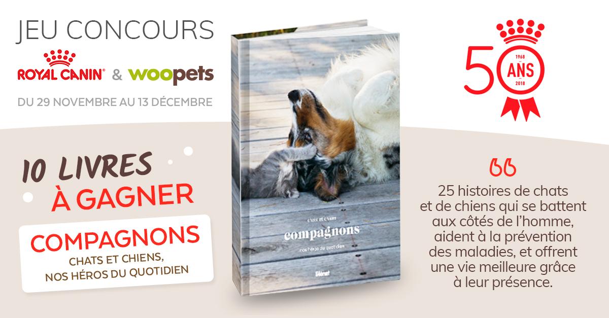 Jeu concours Royal Canin du 29 novembre au 13 décembre 2018